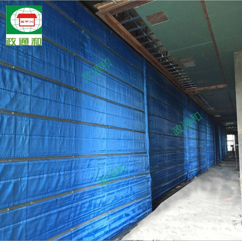 Super Inorganic Folding Fireproof Shutter Door